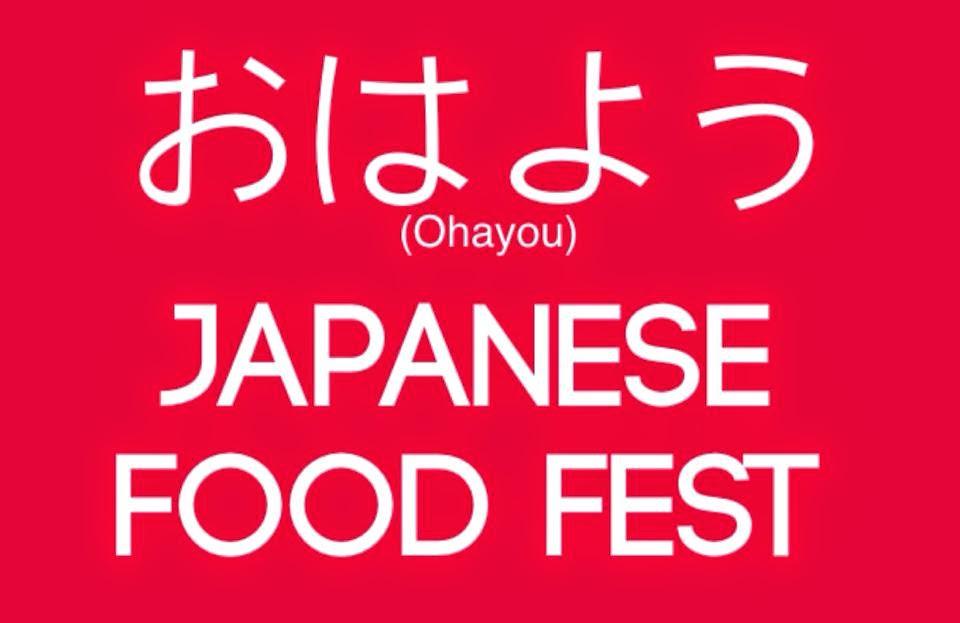 Ohayou Japanese Food Fest