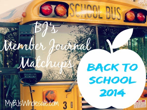 BJ's Back to School Coupon Matchups