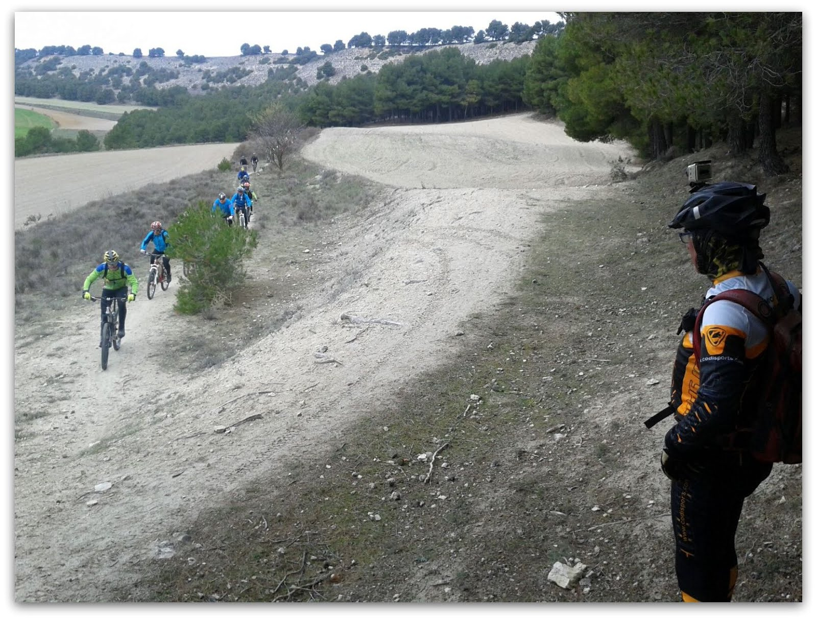 Montes, senderos y pinares de Valladolid. 22.11.2015