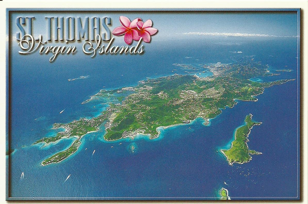st thomas u s v i the virgin islands comprise more than fifty islands and cays they lie about 1700 miles southwest of new york 1100 miles southwest of