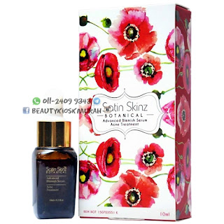 SATIN SKINZ ADVANCED BLEMISH SERUM