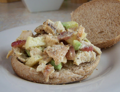 Little Mommy, Big Appetite: Skinny Chicken Salad with Apple and ...