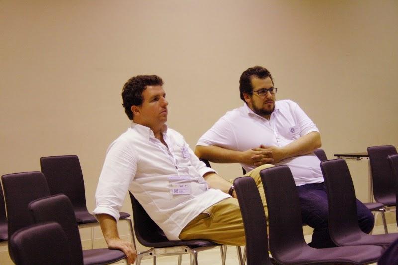 Alberto y Jaime de WorkInCompany, Coworking en Sevilla