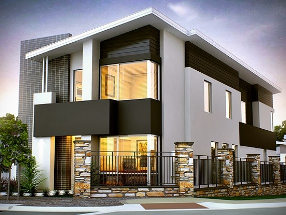 Residential building elevation and floor plan ayanahouse for Elevation design photos residential houses