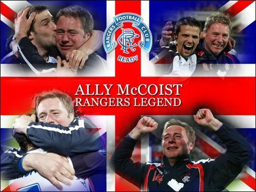 Ally McCoist, Rangers Legend