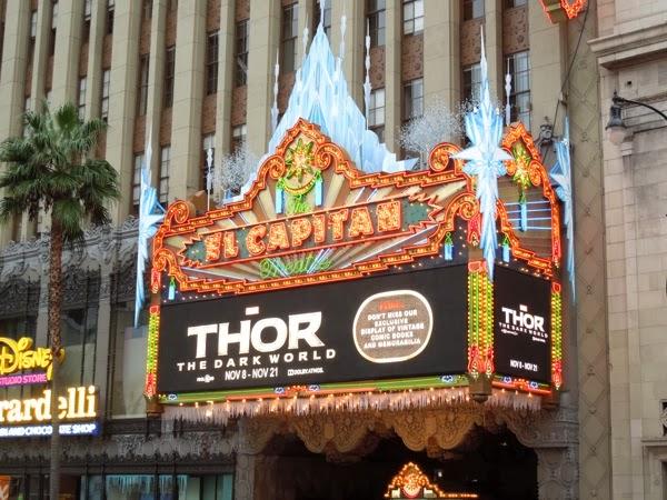 Thor Dark World El Capitan Theatre Hollywood