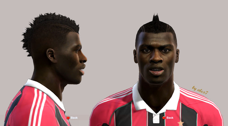 PES 2013 Mbaye Niang Face by Alex7