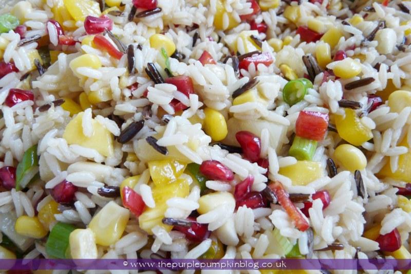 Tropical Island Rice Recipe at The Purple Pumpkin Blog