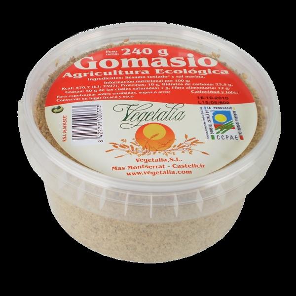 dieta del arroz rojo y gomasio sésamo tostado con sal marina refinada