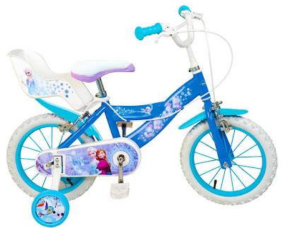 TOYS : JUGUETES - DISNEY Frozen - Bicicleta Infantil  Toimsa   de la Película   Comprar en Amazon España