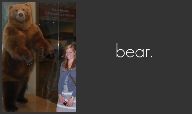 It's me, Bear.