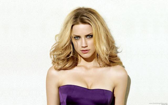 Amber Heard Glamorous Wallpaper