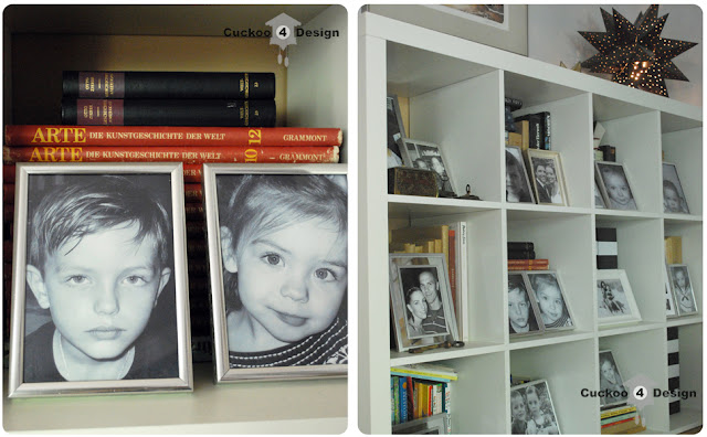 white Expedit Ikea book shelves