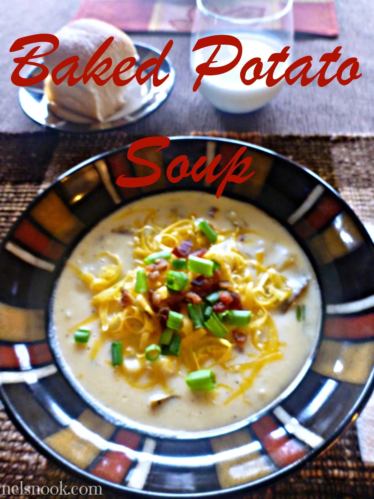 This baked potato soup is amazing for a crowd or for leftovers!
