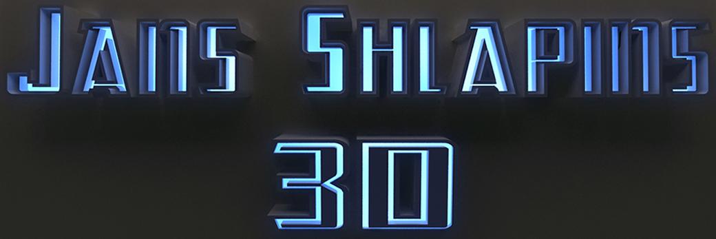 jans shlapins 3D