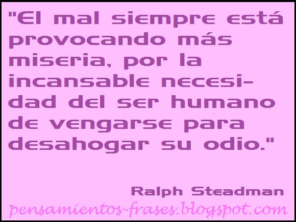 frases de Ralph Steadman