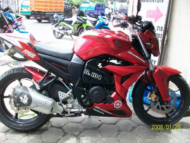 Modif Yamaha Byson Berfairing
