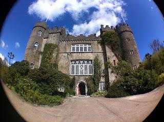 malahide castle fisheye