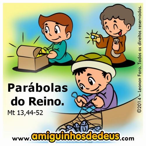 Parábolas do Reino desenho