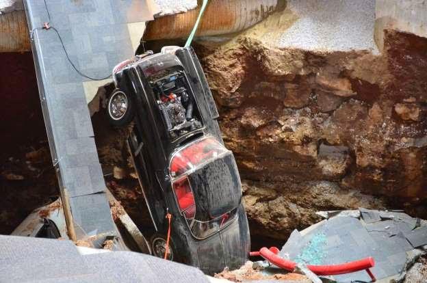 Repairing National Corvette Museum Sinkhole to Cost $3.2 Million