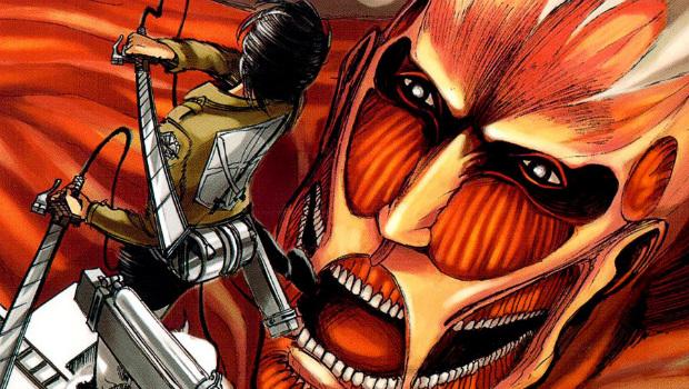 anime e mangá Attack on titan mago nerd