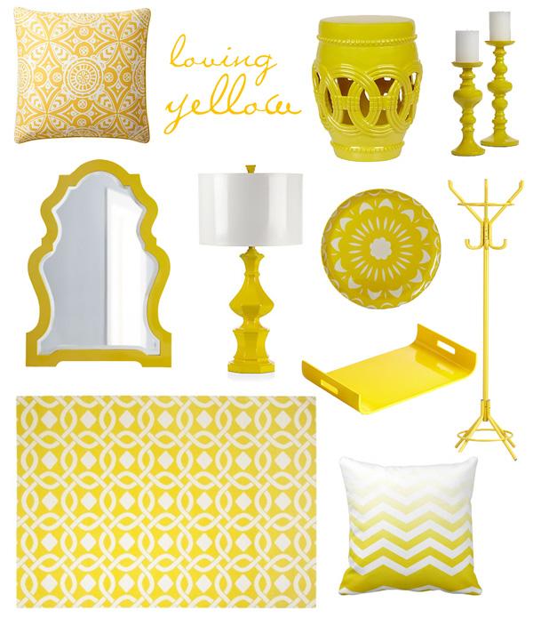 belle maison Summer Color Love Lemon Yellow