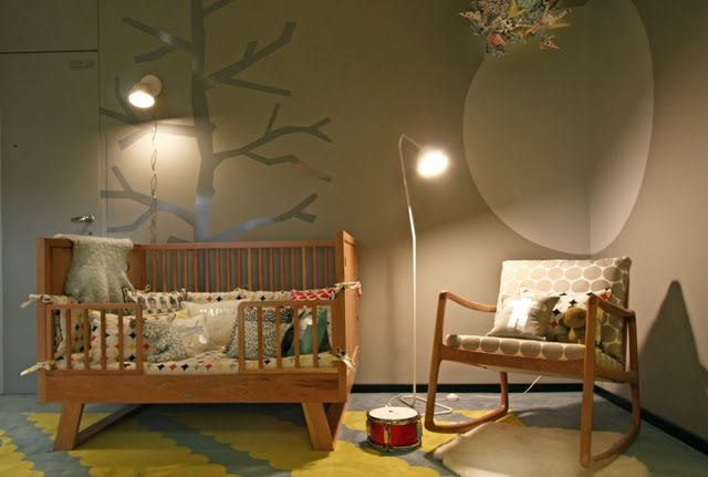 Lulu belle design nursery for Modern nursery decor