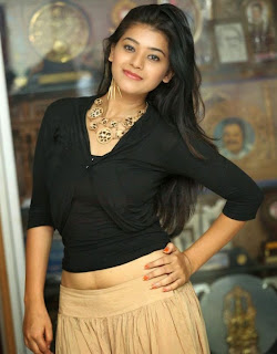 Yamini Bhaskar Cute Spicy Tamil Actress in Short Top and skirt at Kakatiyudu Movie Trailer Launch