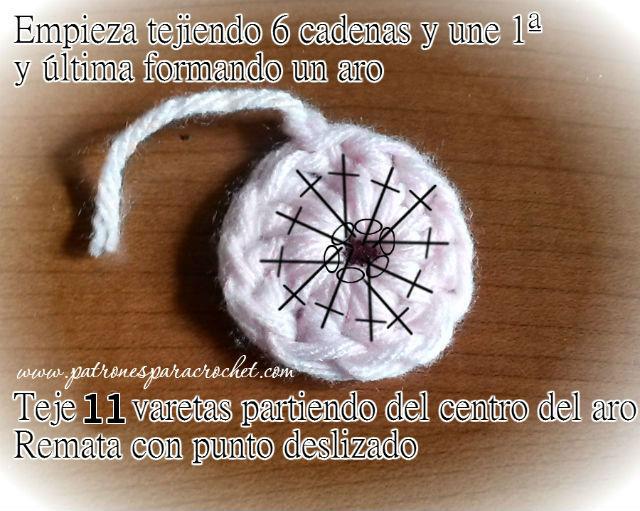 tutorial de granny para hacer bolso crochet
