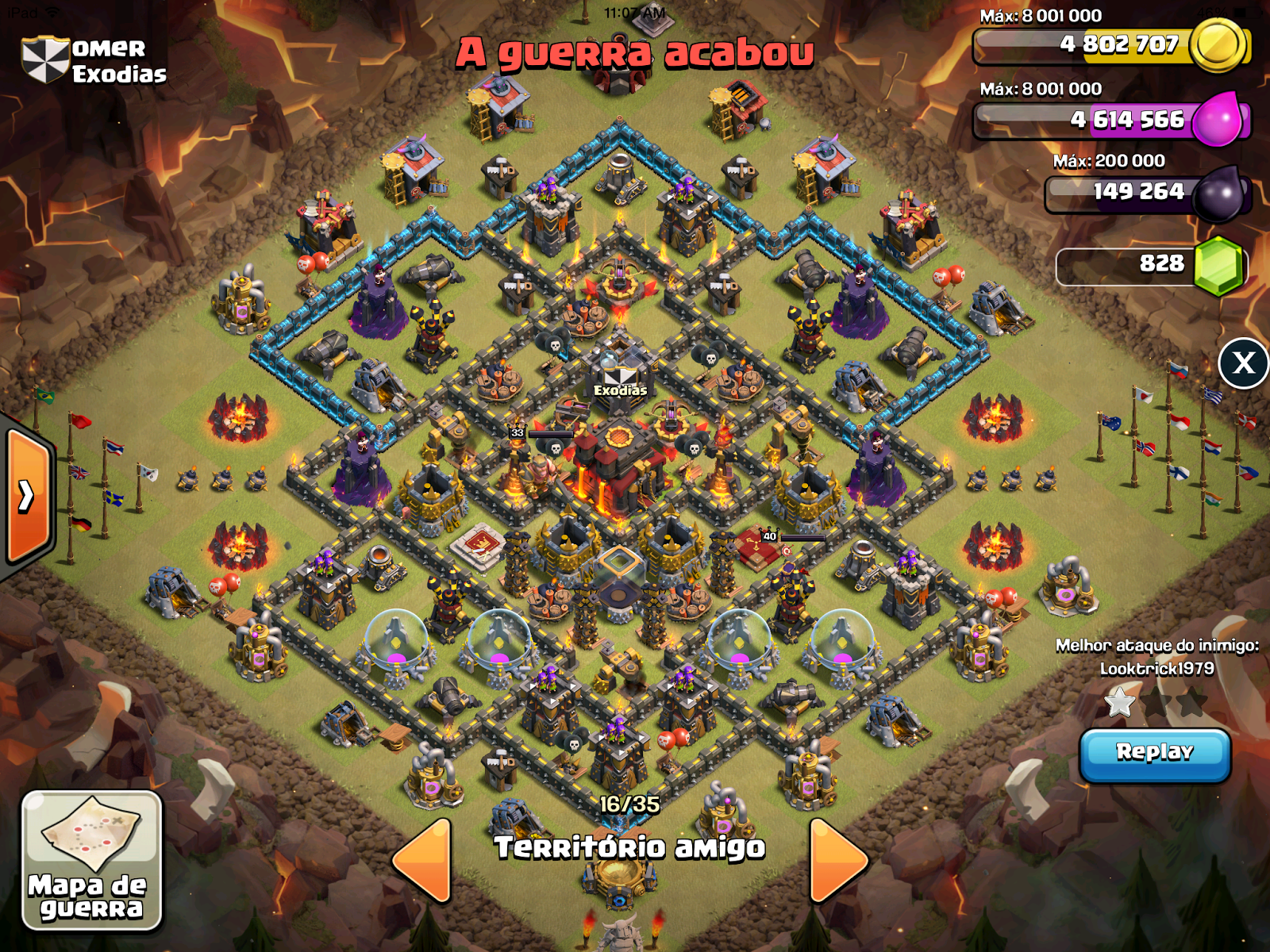 Clash of clans base designs for town hall 10, town hall 9, town hall 8