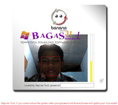 Banana Screen Face Recognition 3
