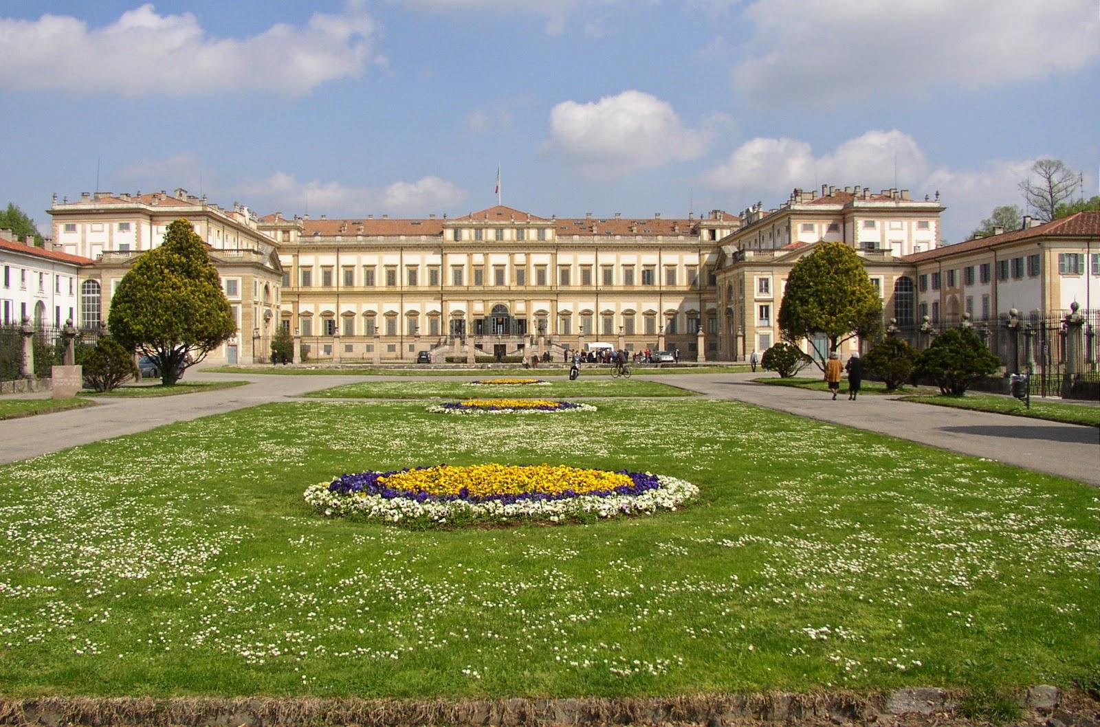 Villa Reale di Manzo, Italien