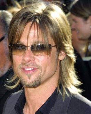 Brad Pitt Male Celebrity Hairstyles