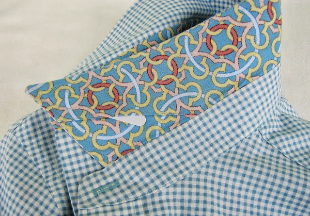 The Colette Negroni Mens Shirt, Super Online Sewing Match