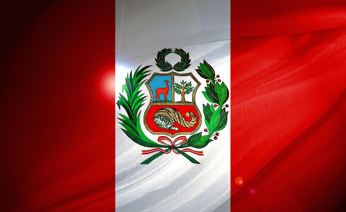Flag of Peru.. . ..