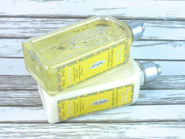 L'Occitane Citrus Verbena Fresh Body Milk & Fresh Shampoo: Review