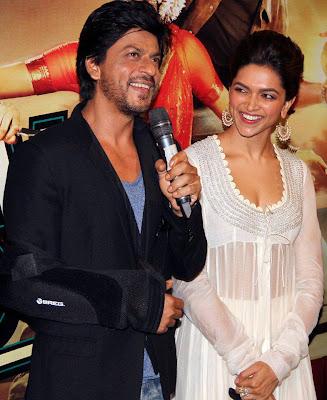 Shahrukh, Rohit & Deepika Padukone @ Chennai Express Trailer Launch-8