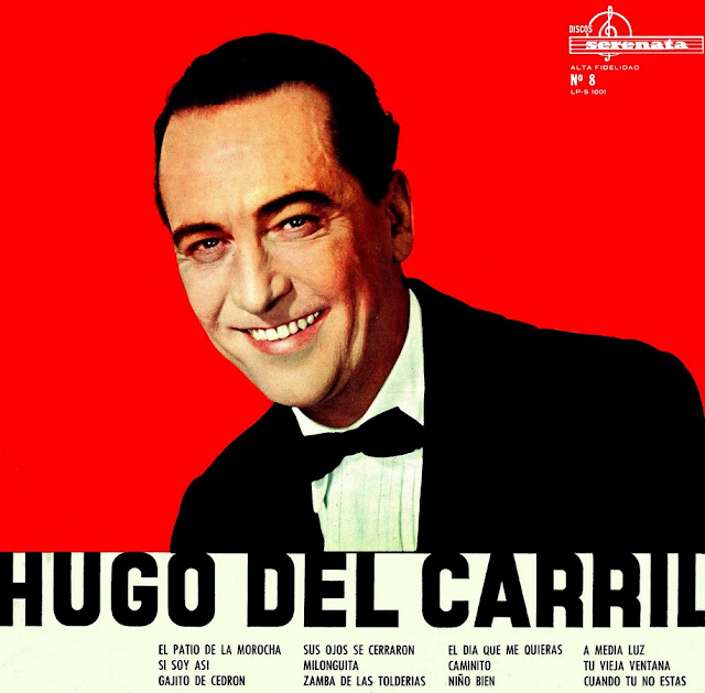 Hugo del Carril  tapa de disco