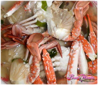 resepi dan cara mudah masak sup ketam sedap