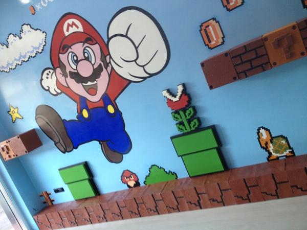 Alfonso Mellone-Mario Mural,  Super Mario Mural