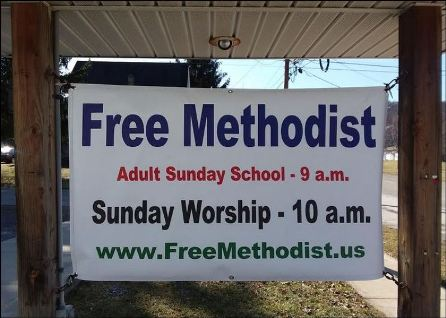 New Sunday Service Hours For Coudersport Free Methodists
