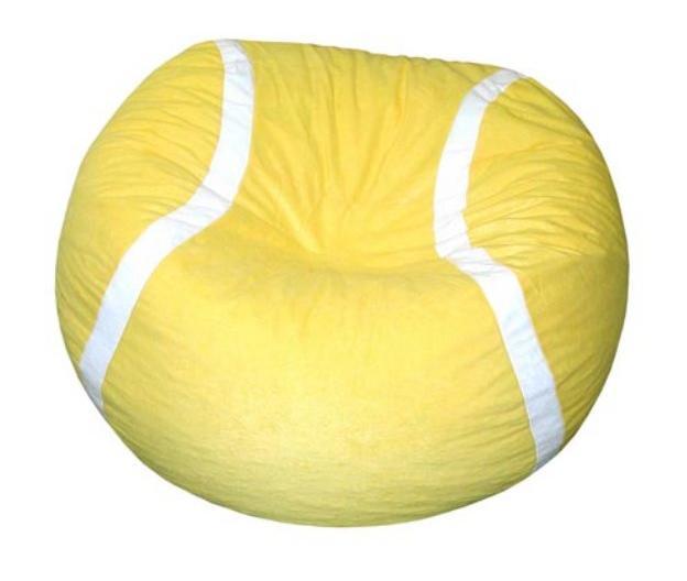 Puff pelota de tenis, instruccion para los moldes
