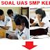 Soal UAS IPA Untuk SMP Kelas 8 Semester 1/Ganjil KTSP Lengkap