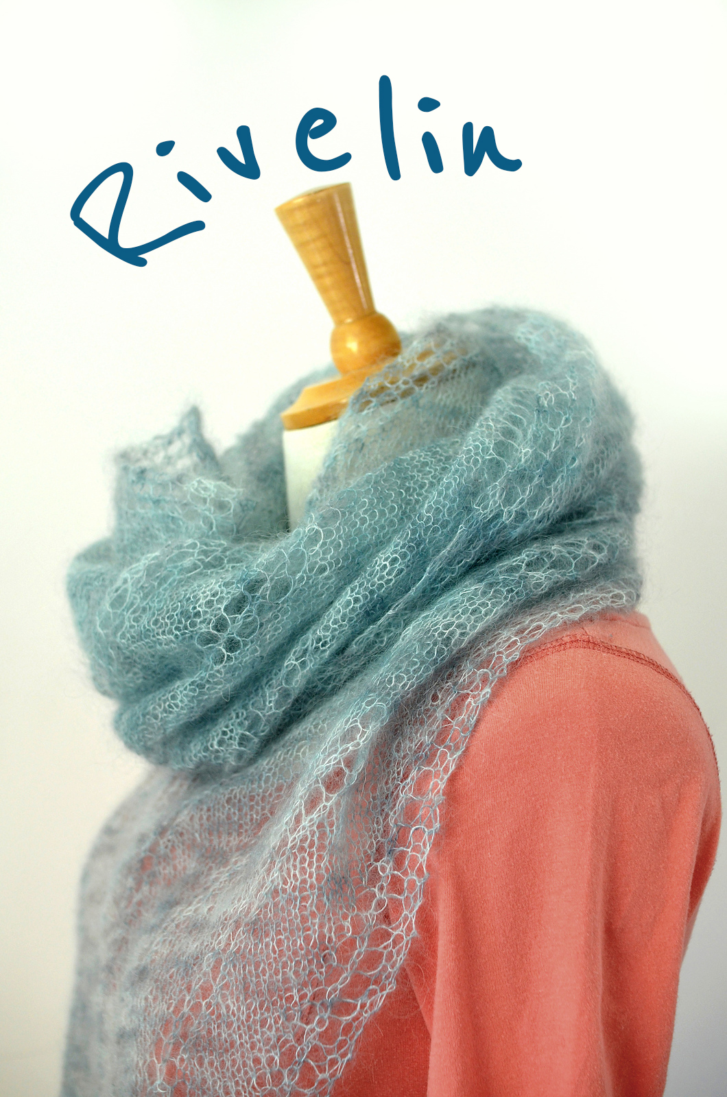 Katya Frankel: NEW PATTERN – RIVELIN SCARF