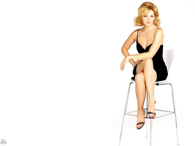 Kim Cattrall HD Wallpaper