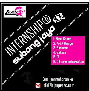 Internship Student Lejen Press