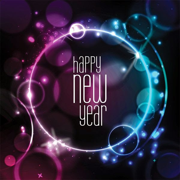 once you download new year card vector graphic in eps file format you will need a vector editing program such as adobe illustrator to be able to open