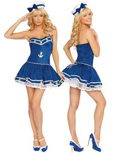 traje de marinera sexy