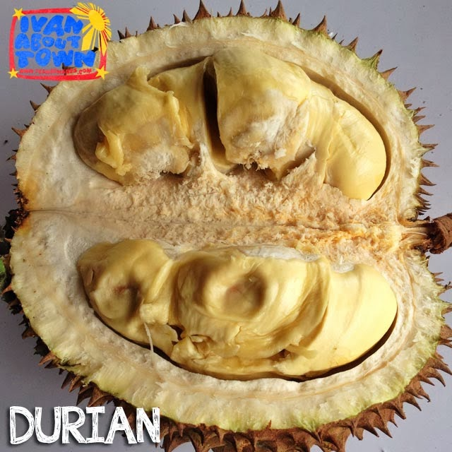 Durian in Ucok Durian, Medan, Indonesia