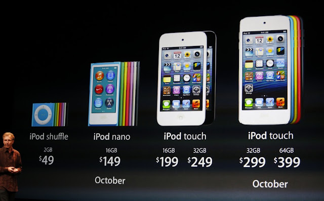 new ipod touch 5 price